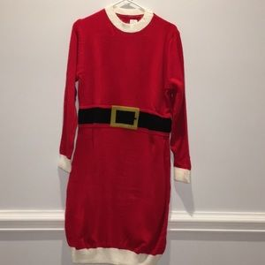 Dresses & Skirts - Santa Sweater Dress NEW